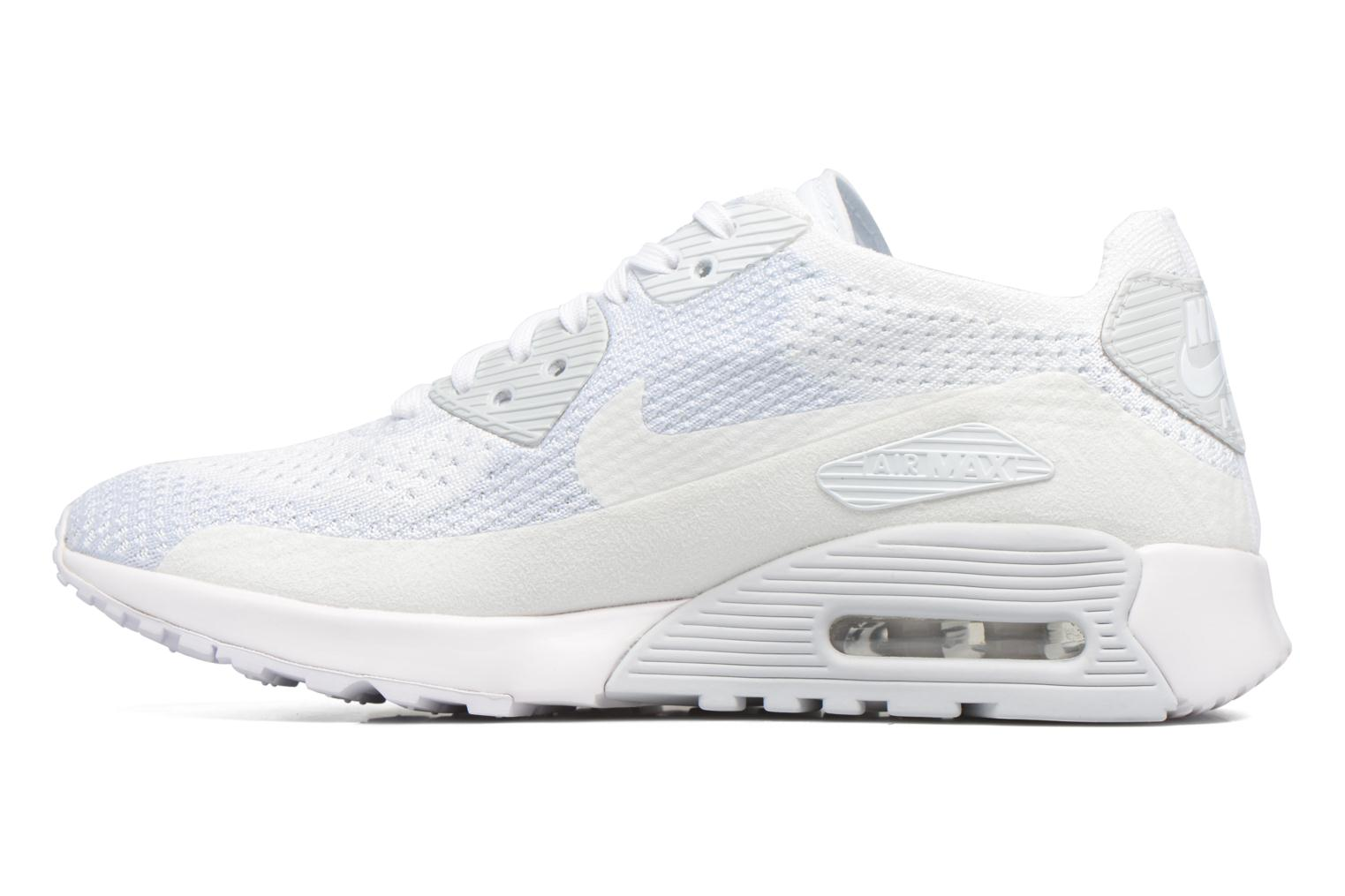 Trainers Nike W Air Max 90 Ultra 2.0 Flyknit White front view