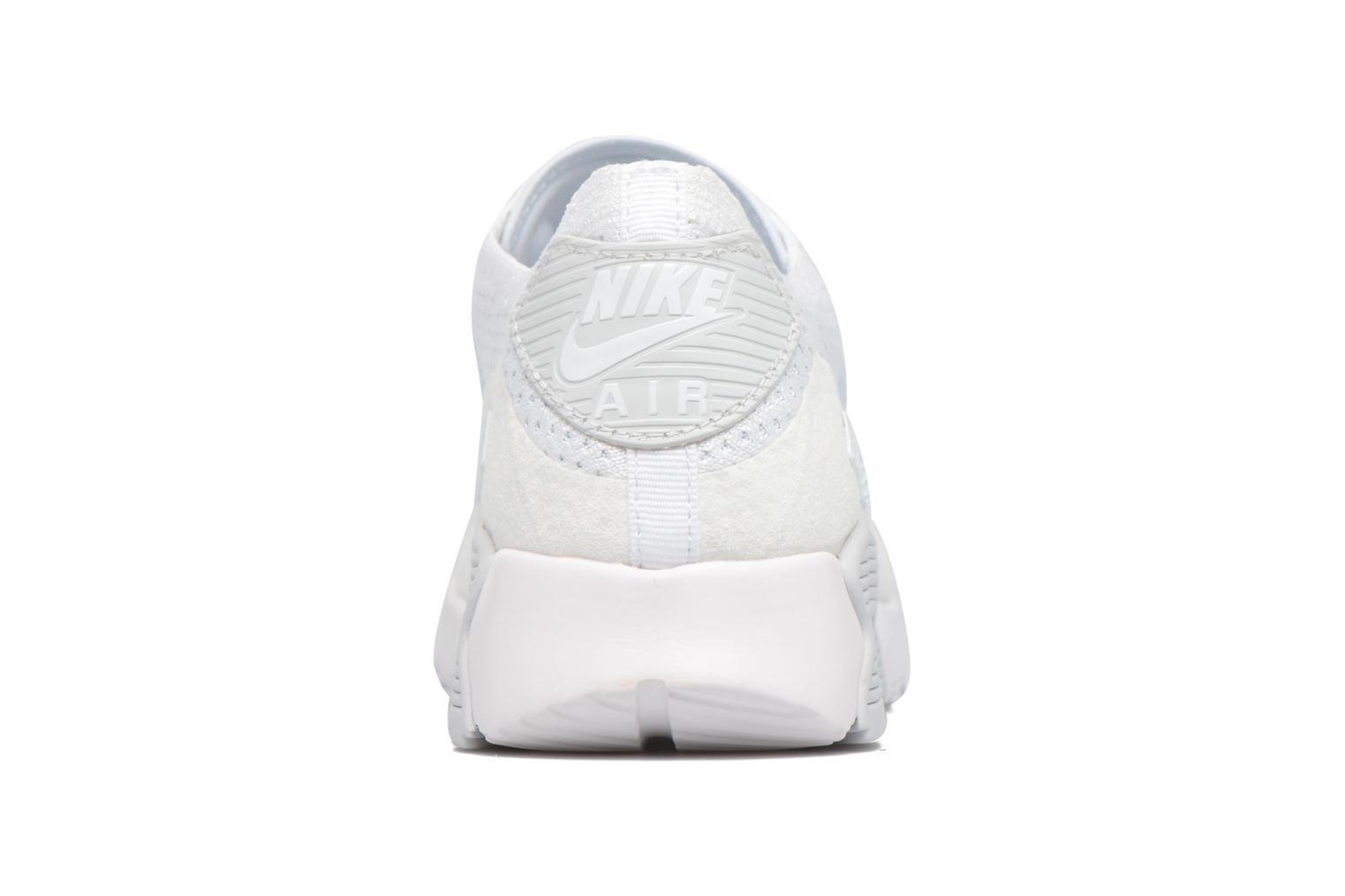 Trainers Nike W Air Max 90 Ultra 2.0 Flyknit White view from the right