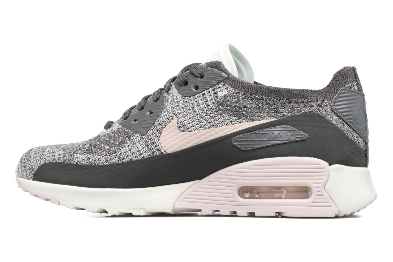 Sneaker Nike W Air Max 90 Ultra 2.0 Flyknit grau ansicht von vorne