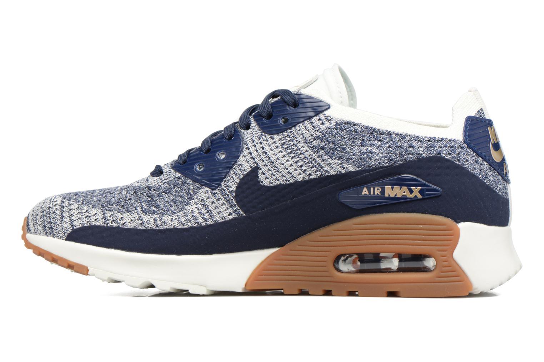 Sneakers Nike W Air Max 90 Ultra 2.0 Flyknit Blå se forfra