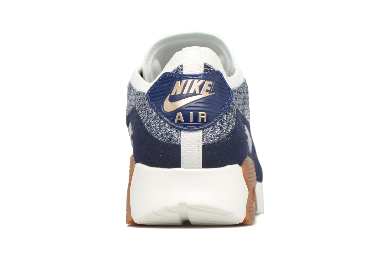 Sneakers Nike W Air Max 90 Ultra 2.0 Flyknit Blå Se fra højre