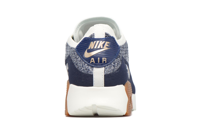 Sneakers Nike W Air Max 90 Ultra 2.0 Flyknit Azzurro immagine destra