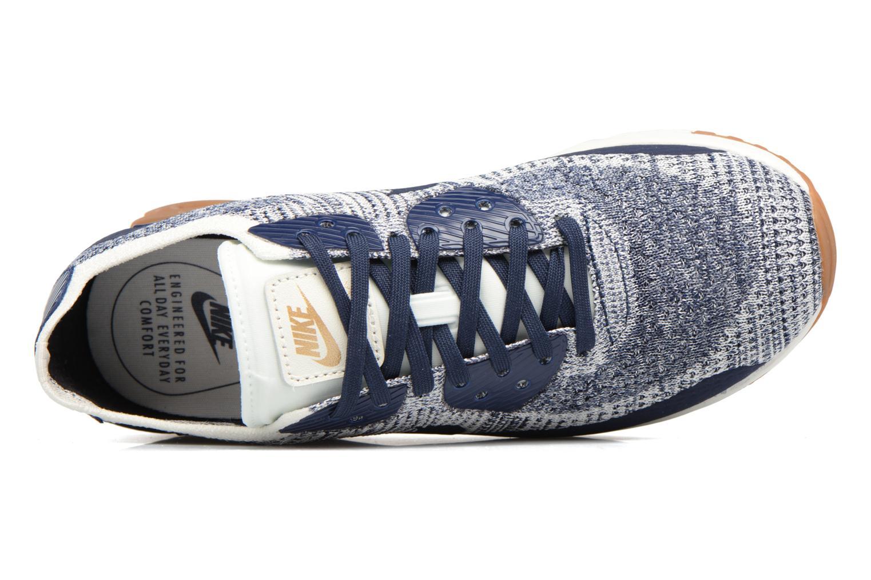 Sneakers Nike W Air Max 90 Ultra 2.0 Flyknit Blå se fra venstre