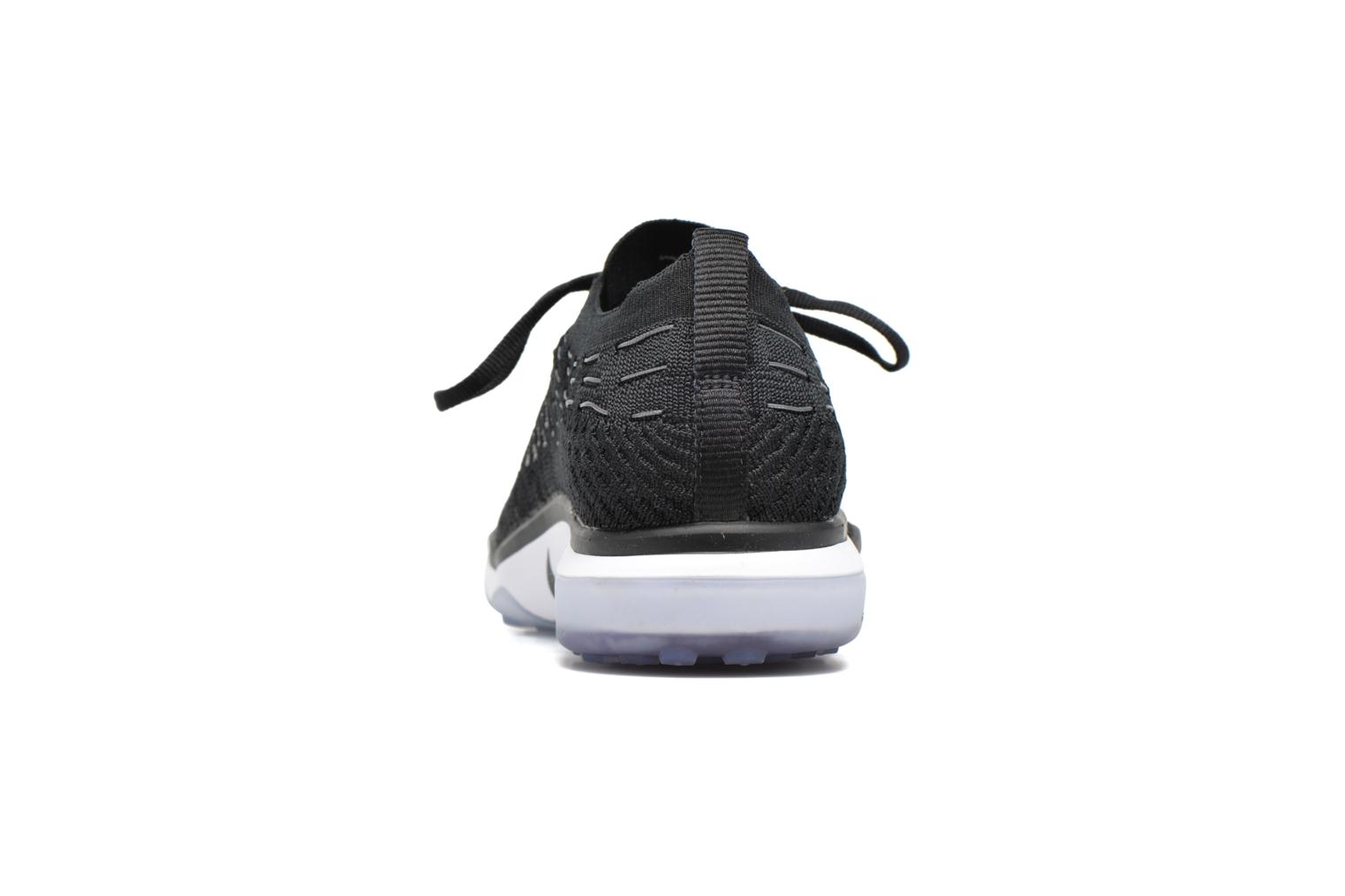 Sport shoes Nike W Air Zoom Fearless Flyknit Black view from the right
