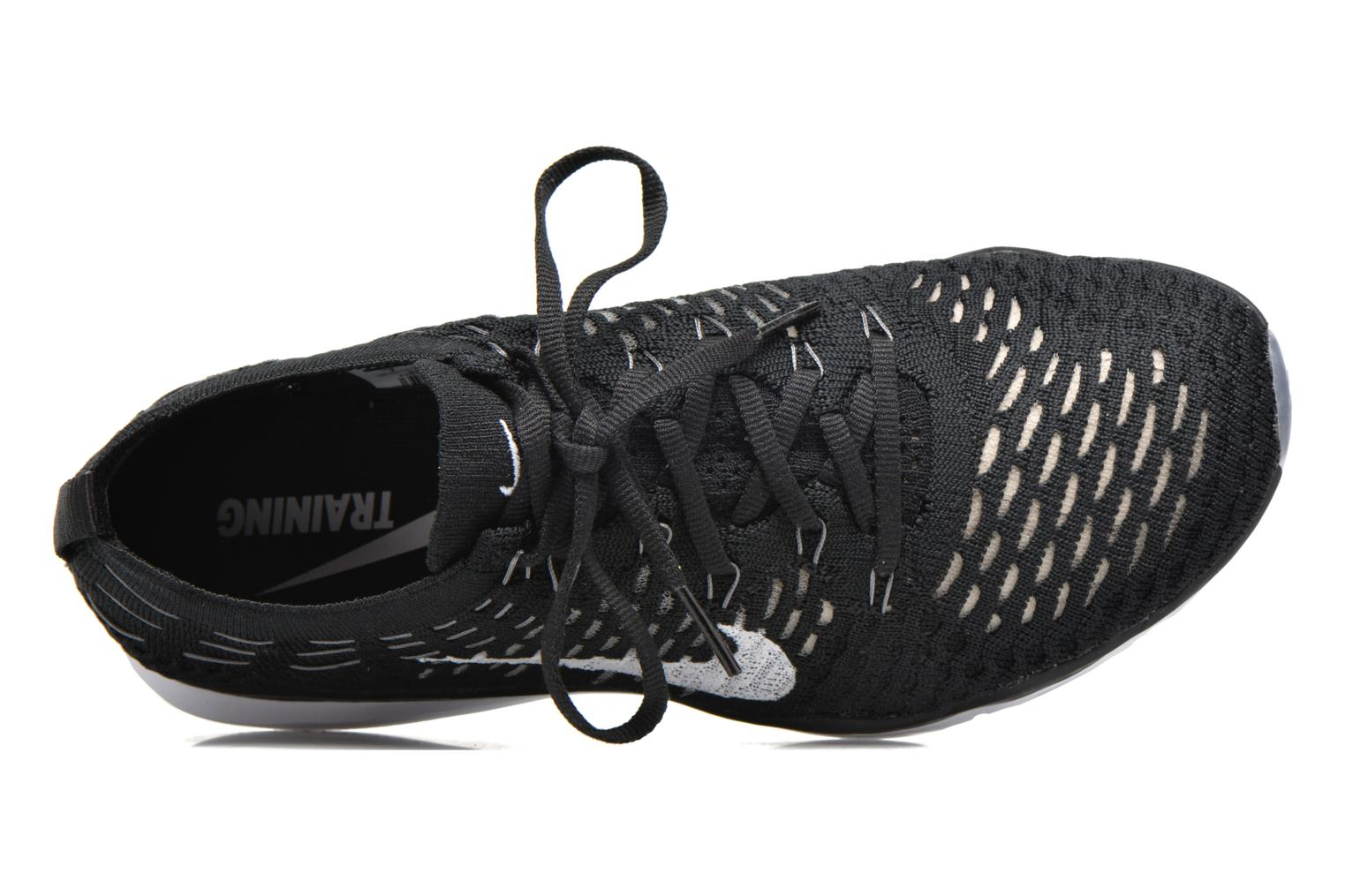 Sport shoes Nike W Air Zoom Fearless Flyknit Black view from the left