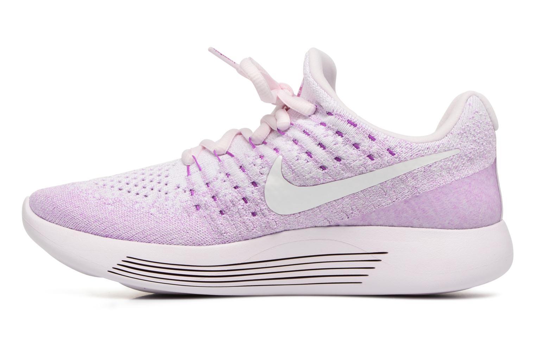 Sportschoenen Nike W Lunarepic Low Flyknit 2 Iwd Paars voorkant