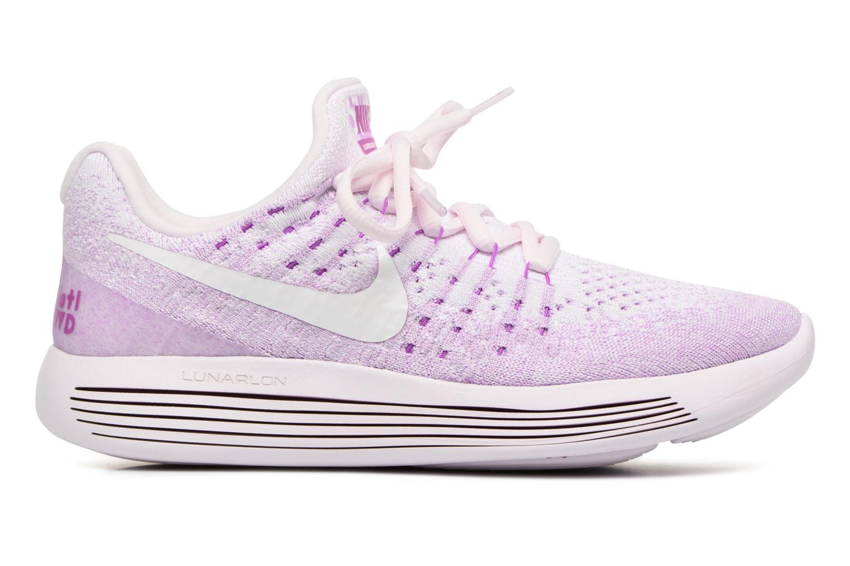 Sportskor Nike W Lunarepic Low Flyknit 2 Iwd Lila bild från baksidan