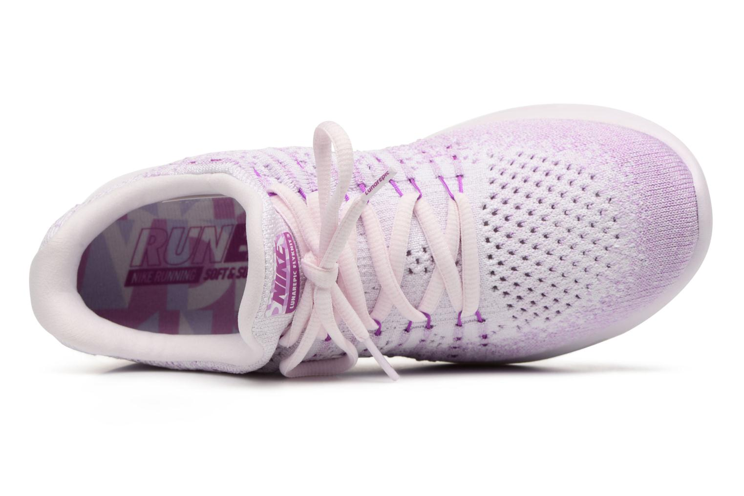Sport shoes Nike W Lunarepic Low Flyknit 2 Iwd Purple view from the left