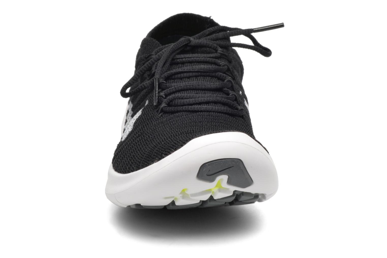 Sportschuhe Nike W Nike Free Rn Motion Flyknit schwarz schuhe getragen