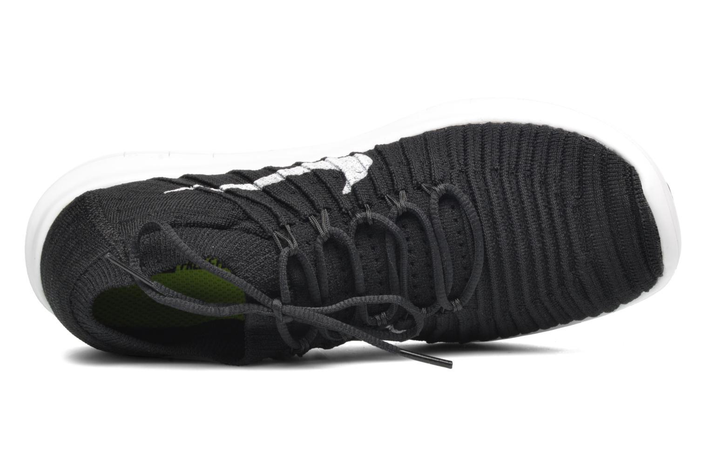 Sportschuhe Nike W Nike Free Rn Motion Flyknit schwarz ansicht von links
