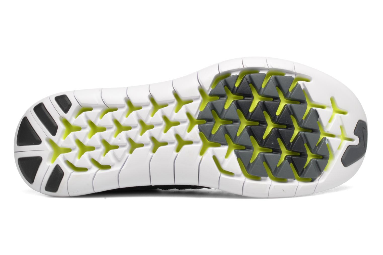 Sportschuhe Nike W Nike Free Rn Motion Flyknit schwarz ansicht von oben