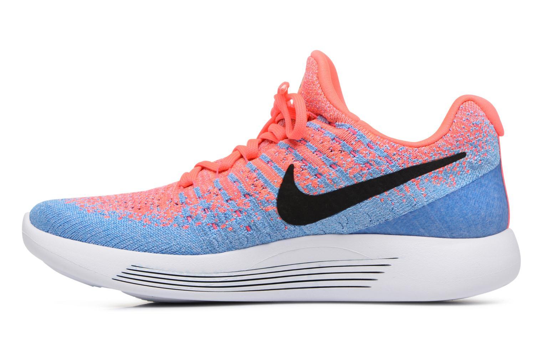 Zapatillas de deporte Nike W Nike Lunarepic Low Flyknit 2 Rosa vista de frente