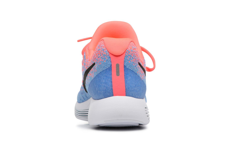 W Nike Lunarepic Low Flyknit 2 Hot Punch/Black-Aluminum-University Blue