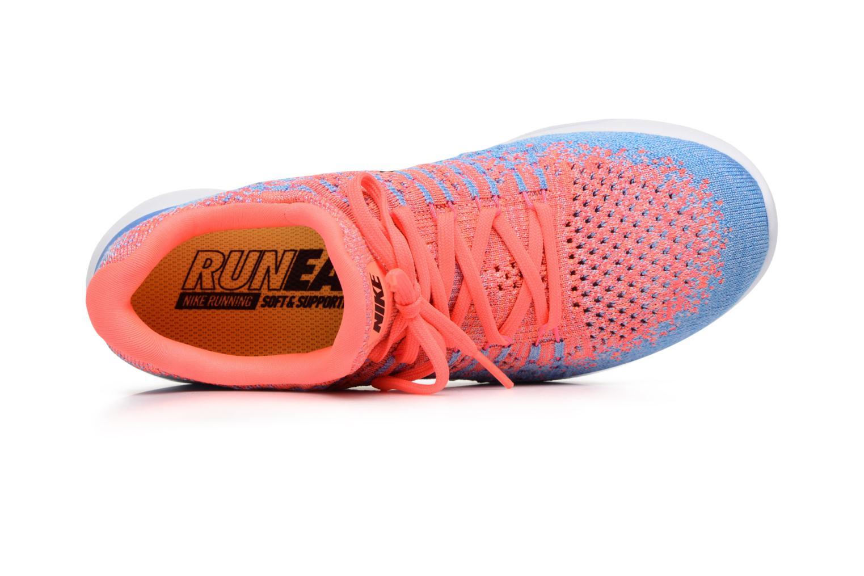Chaussures de sport Nike W Nike Lunarepic Low Flyknit 2 Rose vue gauche