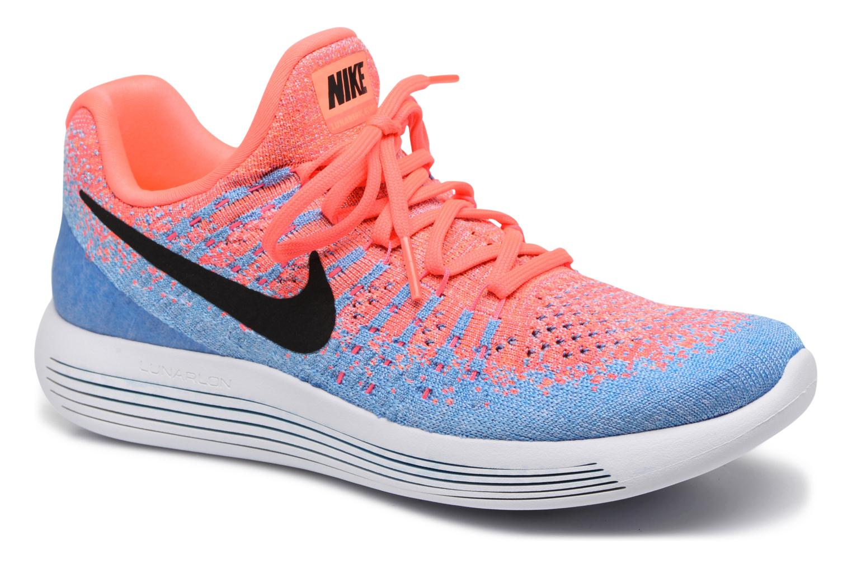 Chaussures de sport Nike W Nike Lunarepic Low Flyknit 2 Rose vue détail/paire