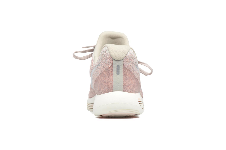 Zapatillas de deporte Nike W Nike Lunarepic Low Flyknit 2 Rosa vista lateral derecha