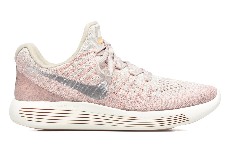 Sportschuhe Nike W Nike Lunarepic Low Flyknit 2 rosa ansicht von hinten