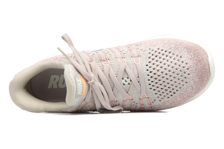 Sportschuhe Nike W Nike Lunarepic Low Flyknit 2 rosa ansicht von links