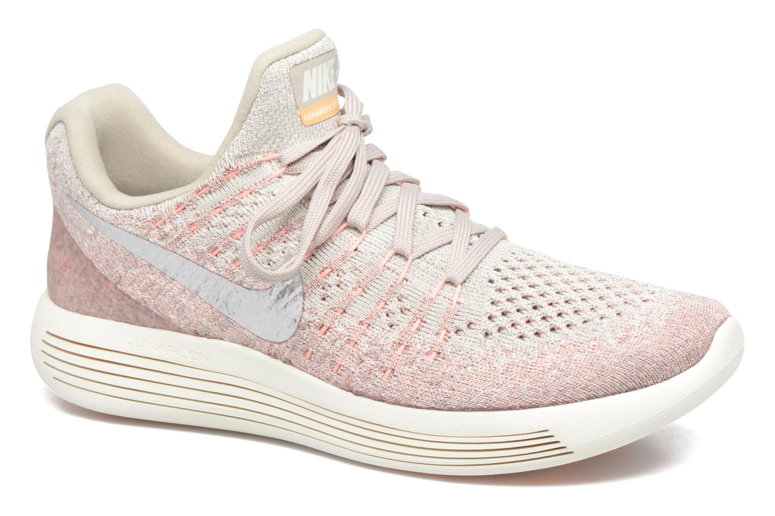 Sport shoes Nike W Nike Lunarepic Low Flyknit 2 Pink detailed view/ Pair  view