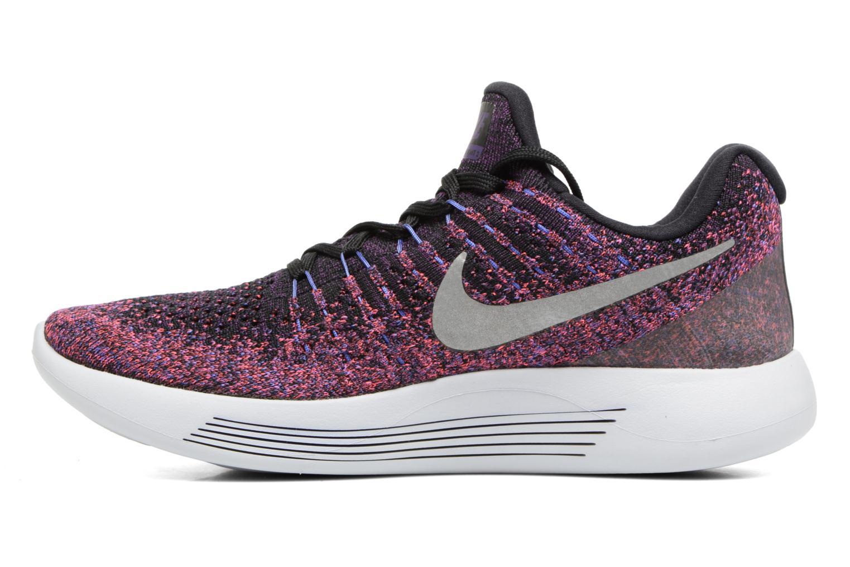Chaussures de sport Nike W Nike Lunarepic Low Flyknit 2 Violet vue face