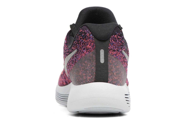 Chaussures de sport Nike W Nike Lunarepic Low Flyknit 2 Violet vue droite