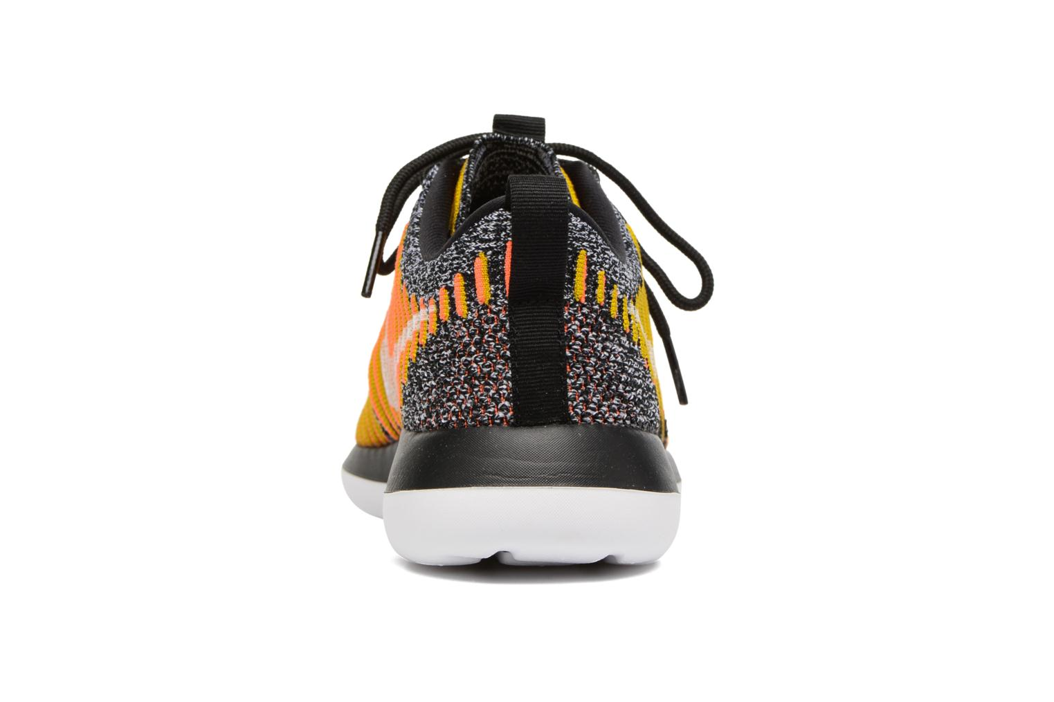 Trainers Nike W Nike Roshe Two Flyknit Black view from the right