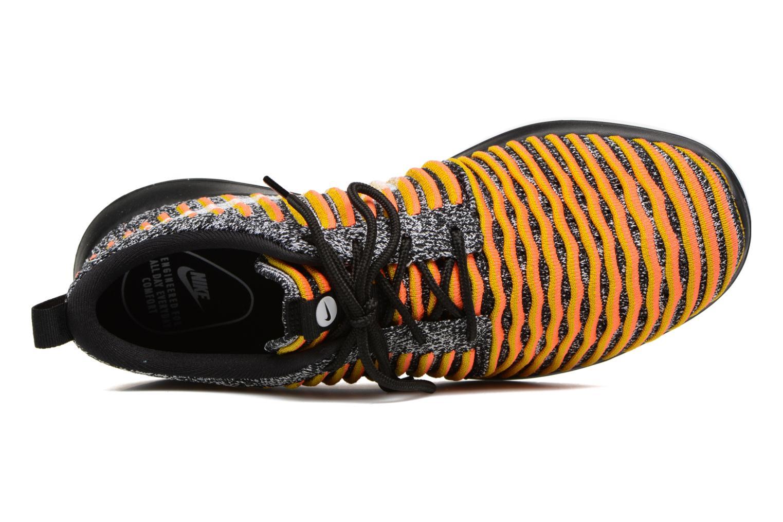 Sneaker Nike W Nike Roshe Two Flyknit schwarz ansicht von links