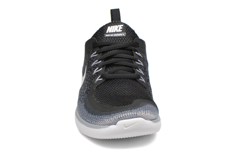 Scarpe sportive Nike Wmns Nike Free Rn Distance 2 Nero modello indossato