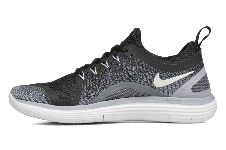 Sportschuhe Nike Wmns Nike Free Rn Distance 2 schwarz ansicht von vorne