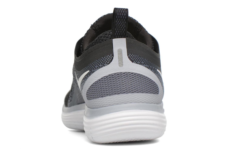 Wmns Nike Free Rn Distance 2 Black/White-Cool Grey-Dark Grey