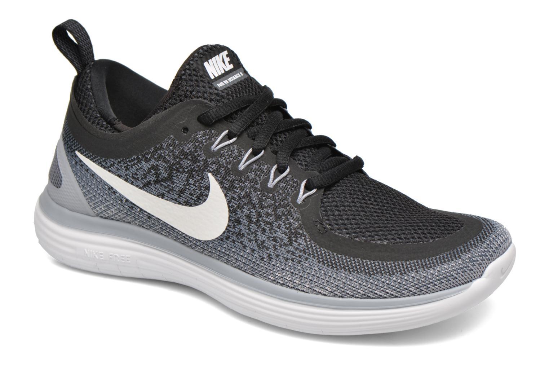 Sportschuhe Nike Wmns Nike Free Rn Distance 2 schwarz detaillierte ansicht/modell