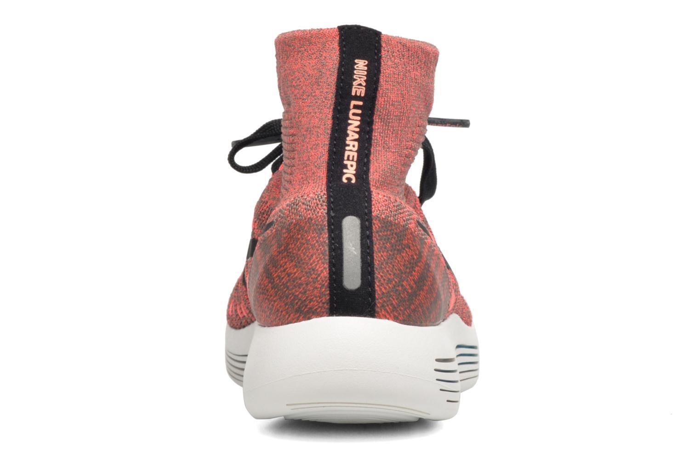 Sportssko Nike Wmns Nike Lunarepic Flyknit Brun Se fra højre