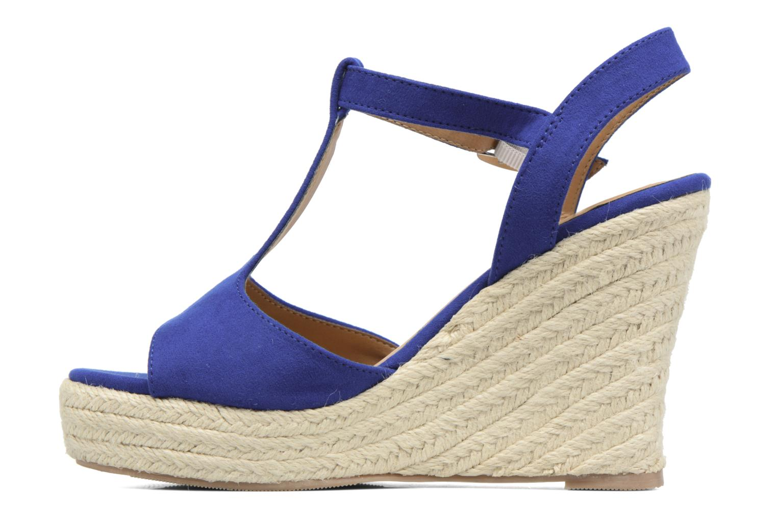 Alpargatas I Love Shoes MCADA Azul vista de frente