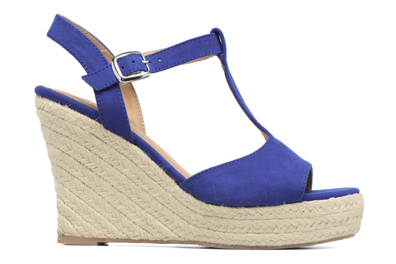 Alpargatas I Love Shoes MCADA Azul vistra trasera