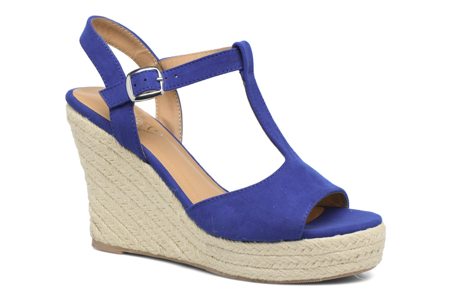 Espadrilles I Love Shoes MCADA Blue detailed view/ Pair view