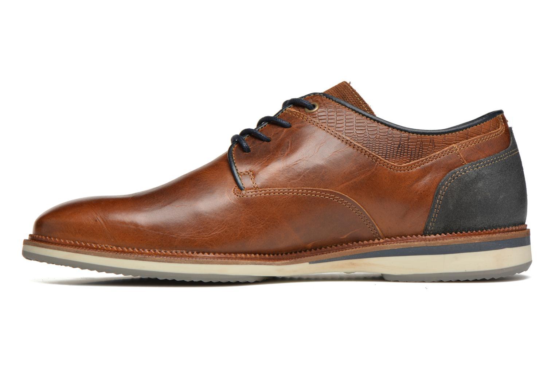 Zapatos con cordones Bullboxer Mattew Marrón vista de frente