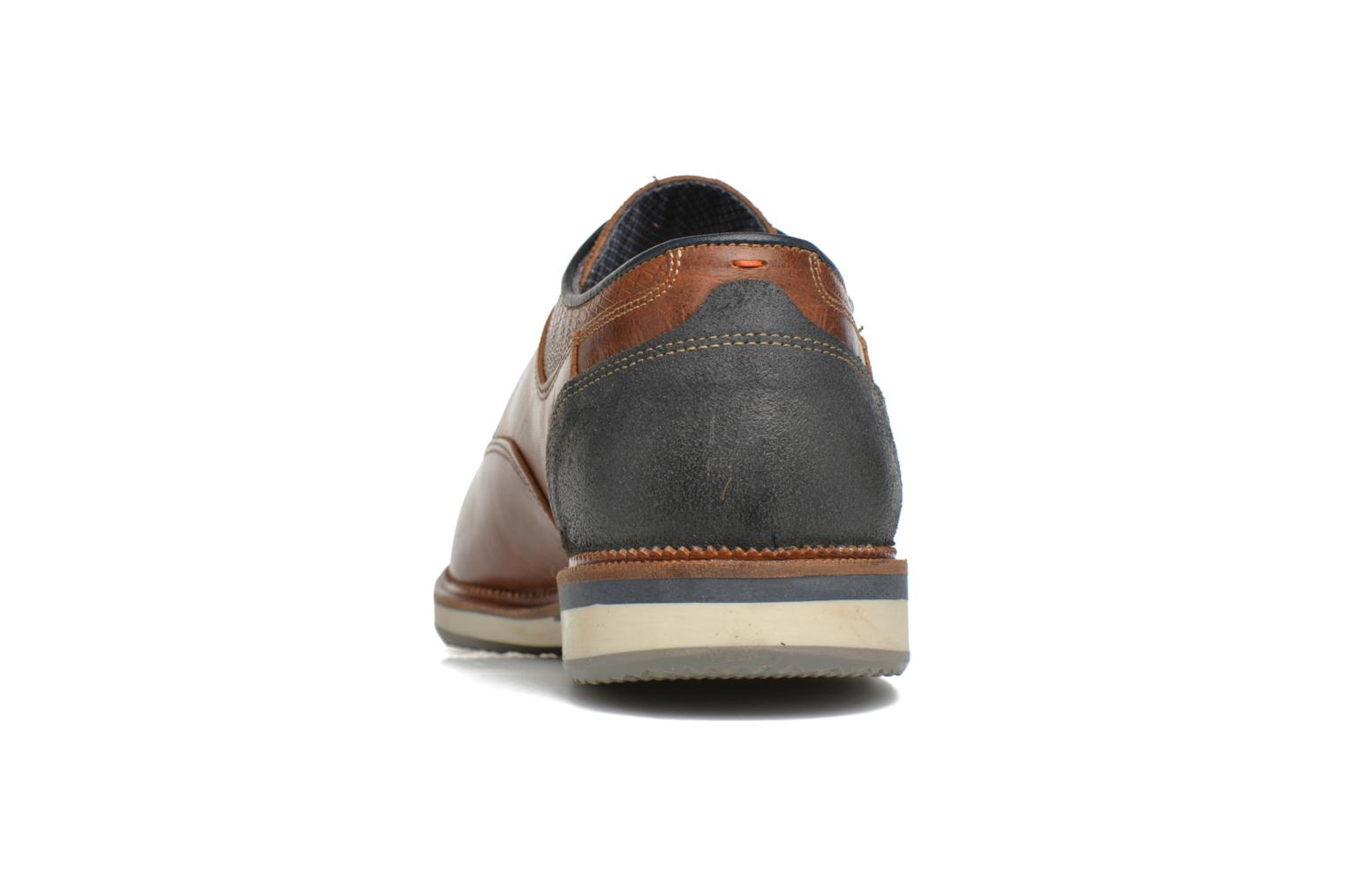 Lace-up shoes Bullboxer Mattew Brown view from the right