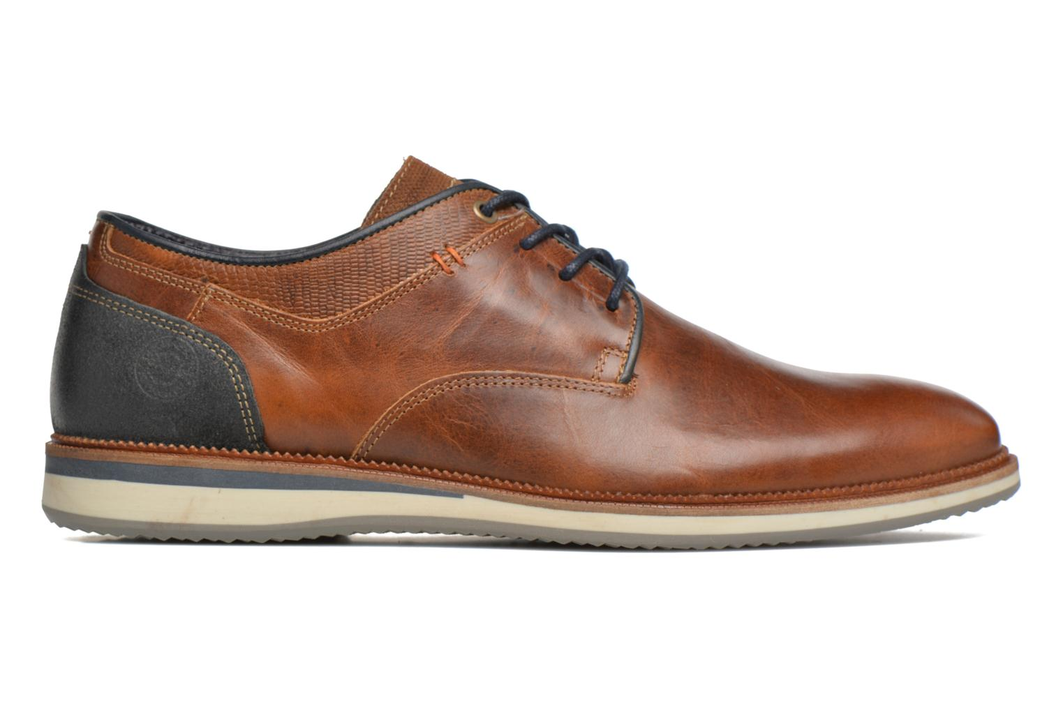 Lace-up shoes Bullboxer Mattew Brown back view