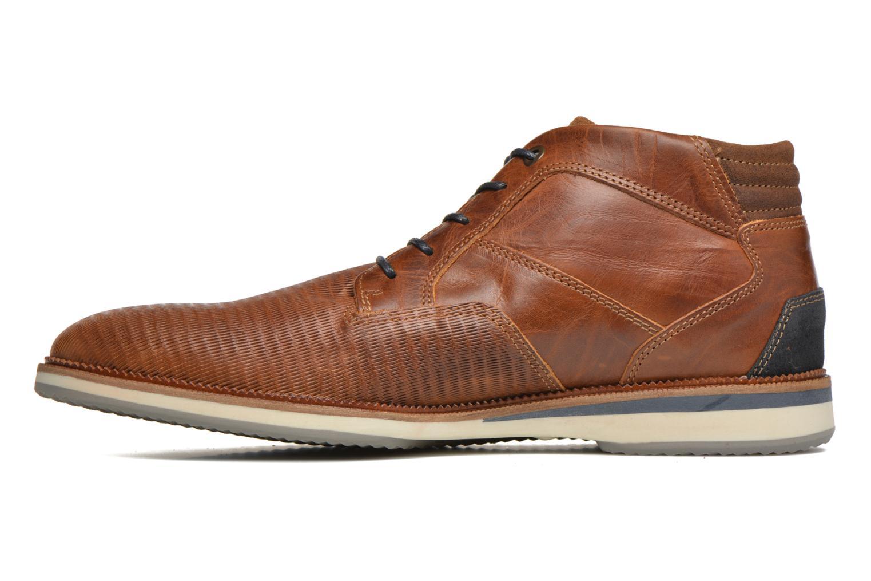 Chaussures à lacets Bullboxer Maldo Marron vue face