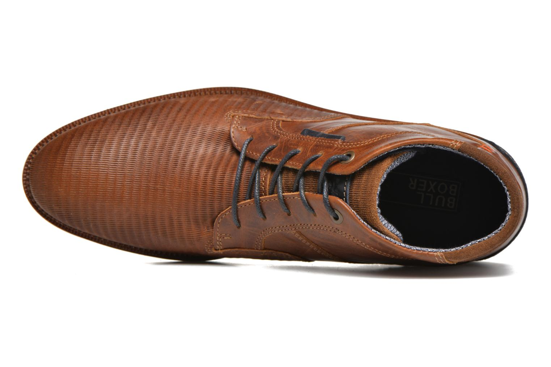 Chaussures à lacets Bullboxer Maldo Marron vue gauche