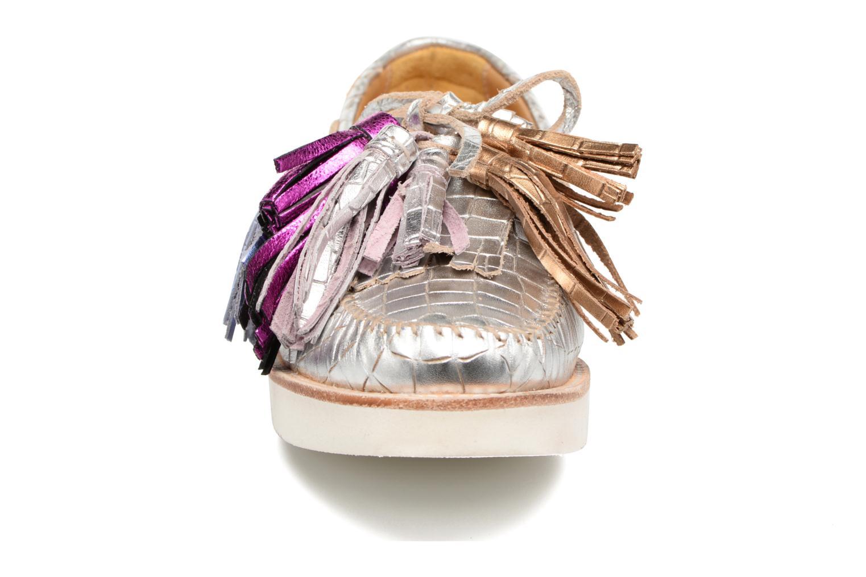 Mocassins Melvin & Hamilton Bea 4 Blanc vue portées chaussures