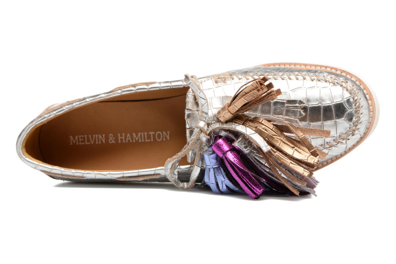 Loafers Melvin & Hamilton Bea 4 Hvid se fra venstre