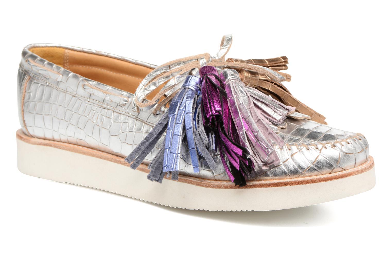 Loafers Melvin & Hamilton Bea 4 Hvid detaljeret billede af skoene