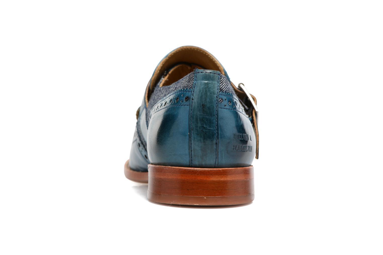 Loafers Melvin & Hamilton Amelie 42 Blå Bild från höger sidan