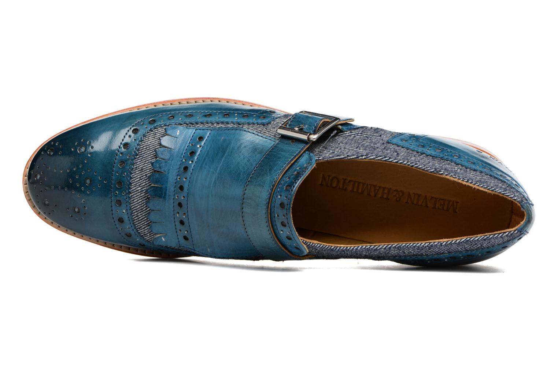 Loafers Melvin & Hamilton Amelie 42 Blå bild från vänster sidan