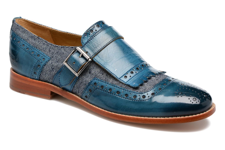 Slipper Melvin & Hamilton Amelie 42 blau detaillierte ansicht/modell
