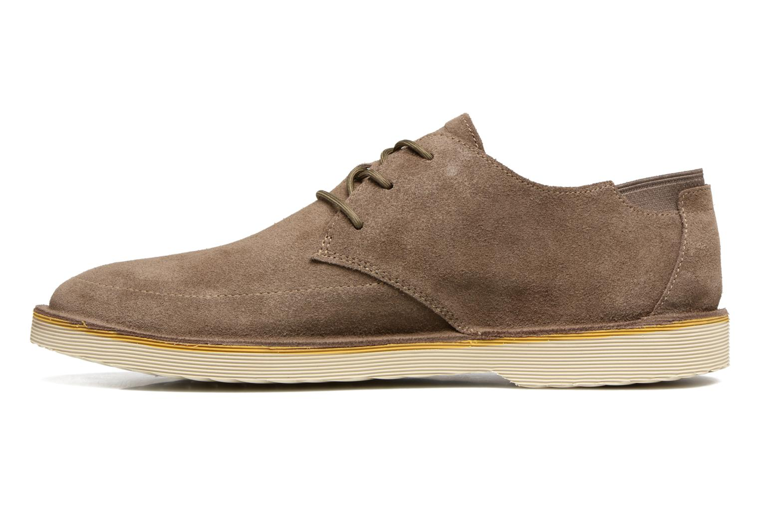 Lace-up shoes Camper Morrys Brown front view