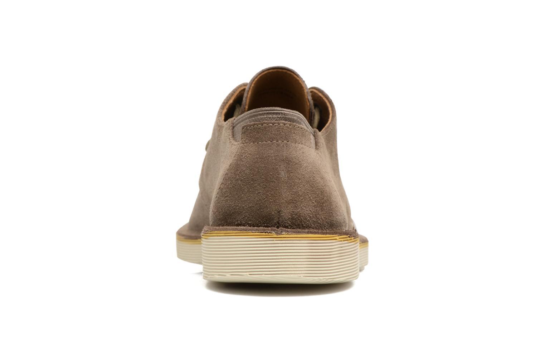 Zapatos con cordones Camper Morrys Marrón vista lateral derecha