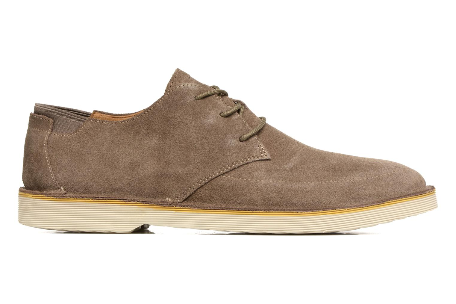Lace-up shoes Camper Morrys Brown back view