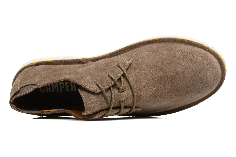 Zapatos con cordones Camper Morrys Marrón vista lateral izquierda